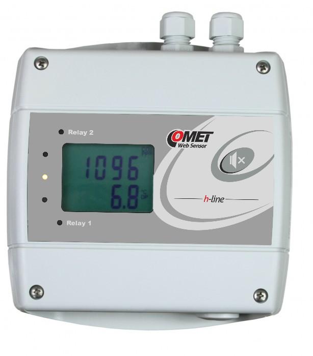 CO2-regulator med Ethernet