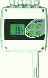 CO2, temperatur- och luftfuktighetsregulator med RS232