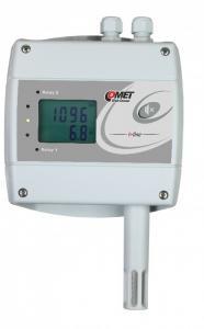CO2, temperatur- och luftfuktighetsregulator med Ethernet