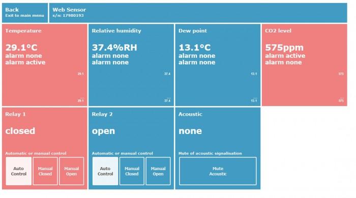 Web Sensor webbsida 3