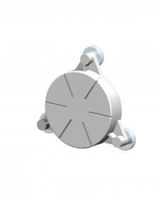 Magnetisk detektor rörelse för Sigfox