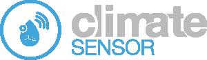 Trådlös klimatlogger CO2, temp & RH - ClimateSensor