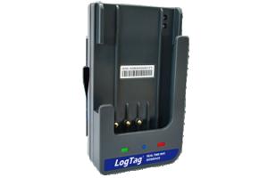 Väggmonterad WiFi-vagga för LogTag dataloggrar med kontaktstift