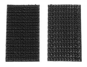 Självhäftande kardborrfäste för enkelt montage av dataloggrar m.m.