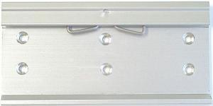 DIN-skenehållare för datalogger typ MS
