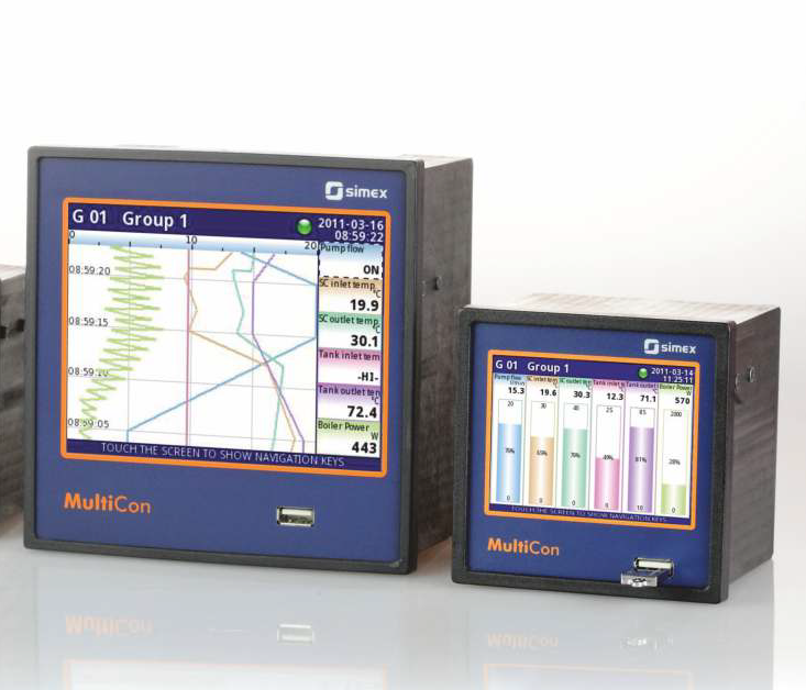 Multicon - Multiregulator, styrsystem & datalogger
