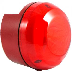Blixtljus för gaslarm, rött IP65