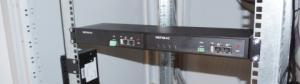 """19"""" vinkelkonsoller för två Netio 4C"""