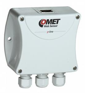 Fjärrmätningsenhet/logger 2 x 0/4-20 mA till Ethernet - Websensor