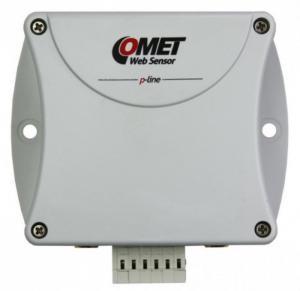 Termometer/hygrometer för 2 givare med 3xDin och Ethernet interface - Websensor