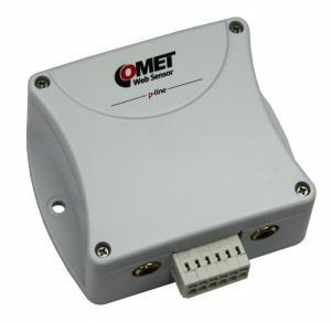 Termometer/hygrometer PoE för 2 givare med 3xDin och Ethernet - Websensor