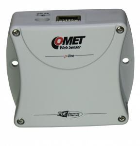 Termometer eller hygrometer för extern givare med Ethernet interface PoE - Websensor