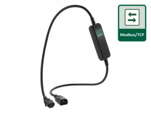 Smart skarvsladd IEC-320 med Wifi, strömmätning och Modbus