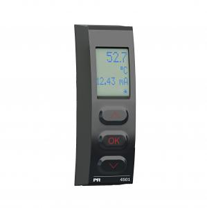 Display och programmeringsfront till PR Electronics signalomvandlare