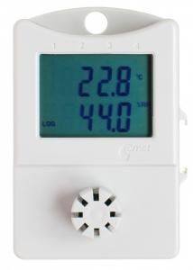 Temperatur- och luftfuktighetslogger med display - Economy
