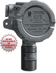 Gastransmitter/gasdetektor för giftiga eller brännbara gaser FGD10B