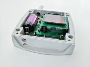 Trådlös IoT-mätare för temperatur, barometertryck & CO2 (f. ext. givare)