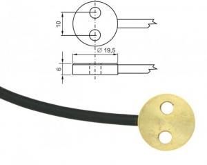 Ytgivare Pt1000 med kabel och ELKA-kontakt