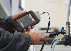 Ultraljudsinstrument för läcksökning och underhåll