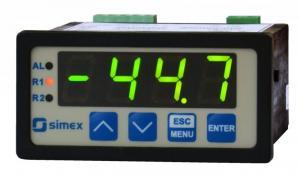 Display/regulator för Pt100/Pt500/Pt1000