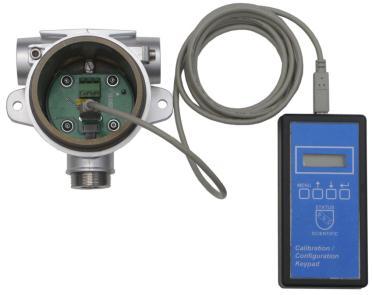 Konfigurerings- och kalibreringsenhet för gasdetektor FGD10B
