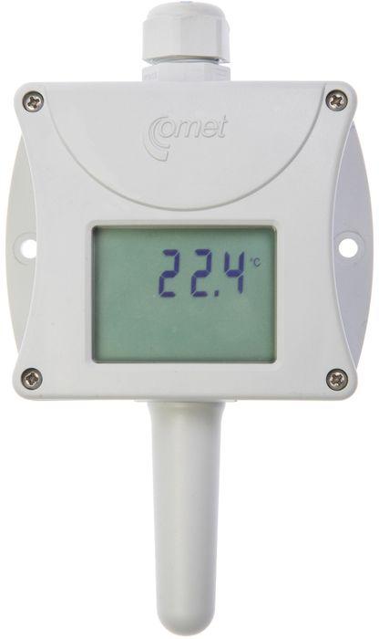 Temperaturtransmitter med display 4-20 mA