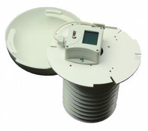 Temperatur- och luftfuktighetstransmitter för kanal 0-10V