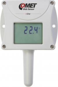 Termometer med display och Ethernet - Websensor