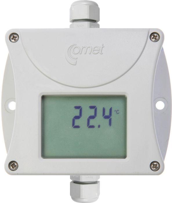 Temperaturtransmitter med display för Pt1000 4-20 mA