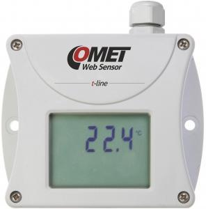 Termometer med display och Ethernet för extern Pt1000 - Websensor
