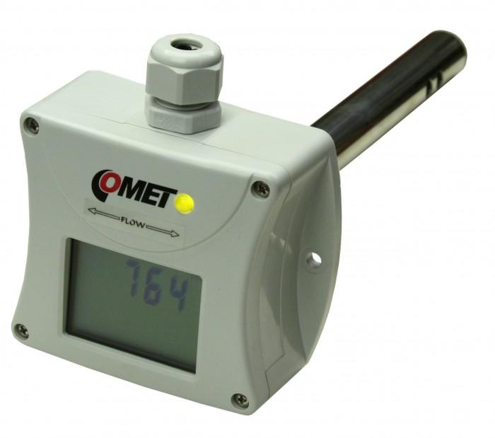 CO2-transmitter 0-10V för kanal