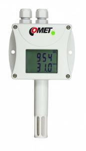 CO2, temperatur- och luftfuktighetsmätare med RS232
