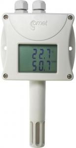 Barometertrycks-, temperatur- och luftfuktighetstransmitter med display RS485