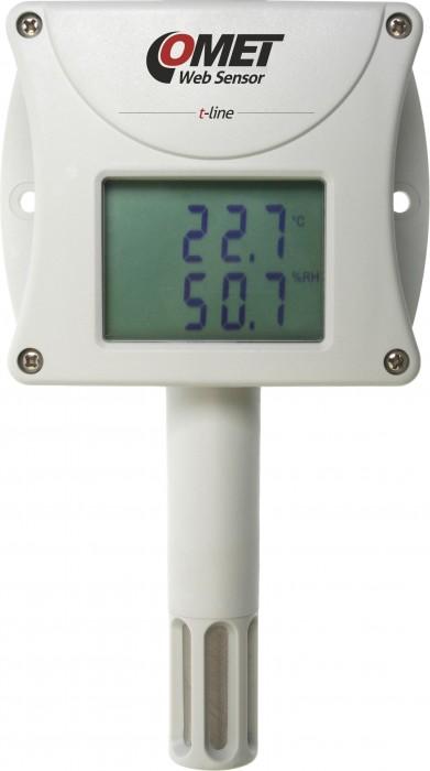 Barometertrycks-, temperatur- och luftfuktighetsmätare med Ethernet