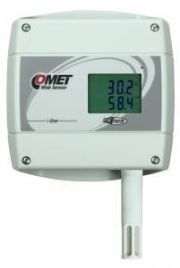 Barometertrycks-, temperatur- och luftfuktighetsmätare med Ethernet PoE