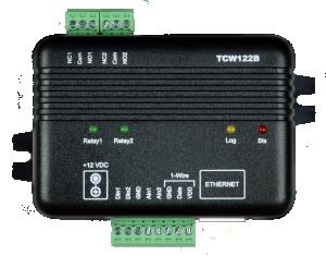Ethernet controller - Styrning & övervakning via nätet