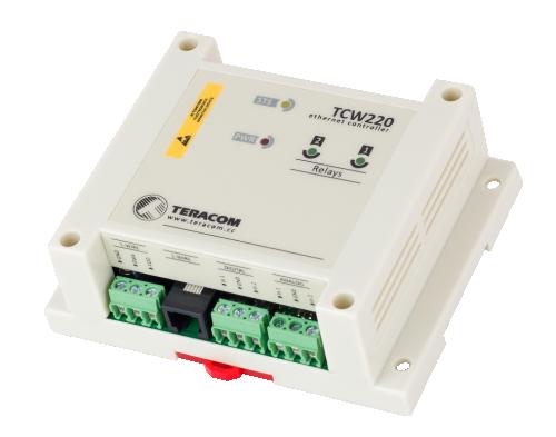 Nätverksstyrning/Ethernet controller och datalogger TCW220