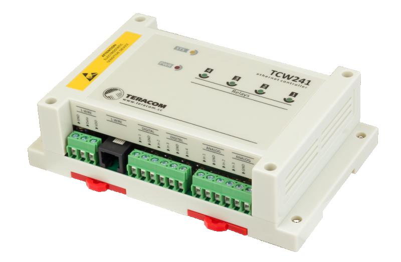 Nätverksstyrning/Ethernet controller TCW241