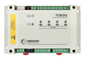Ethernet controller - 4xDin, 4xAin, 4xrelä ut, 8x1-wire
