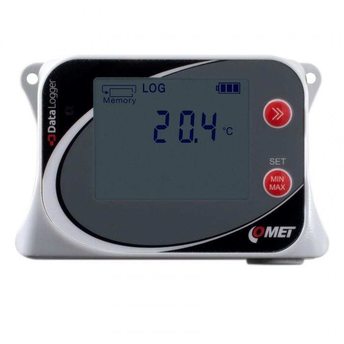 Temperaturlogger med intern sensor