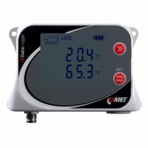 Datalogger för en extern temperaturgivare Pt1000