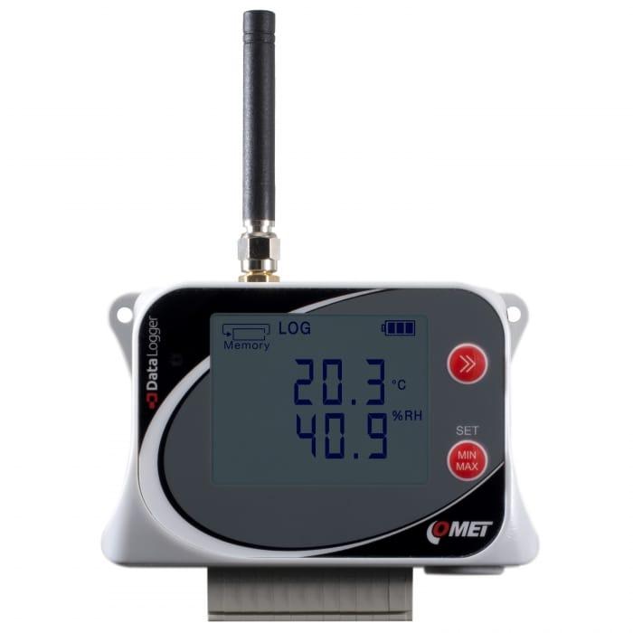 GSM-logger för 2 x temperaturgivare och 2 x status för IoT