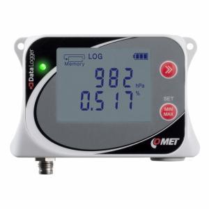 Datalogger för CO2 & barometertryck, för extern CO2-givare