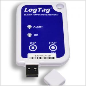 Temperaturlogger med USB & PDF-rapport -30..+70°C