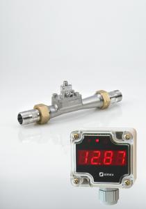 Flödesmätare VFI 0,3-6 m3/h med loopmatad display