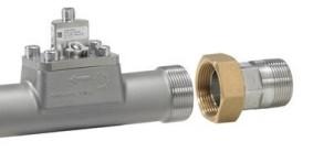 Gänganslutning flödesmätare Grundfos Direct Sensors