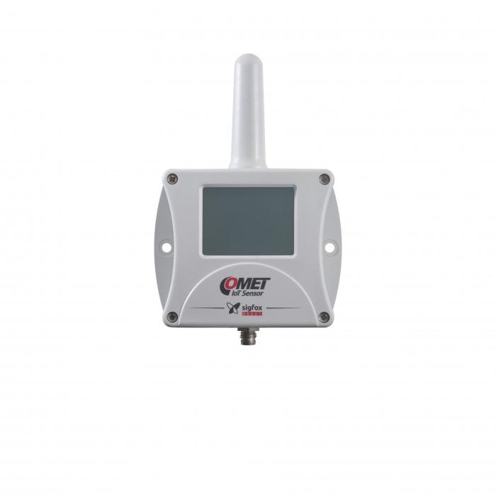 Trådlös IoT-termometer för extern givare och Sigfox