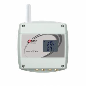 Trådlös IoT-termometer för 4 externa givare m. Cinch