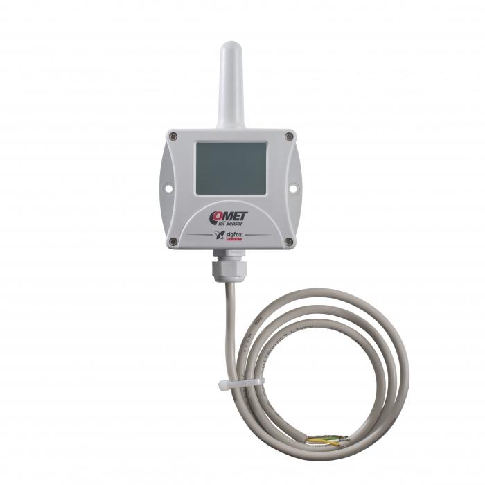 Trådlös IoT-termometer med digital ingång för Sigfox