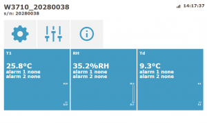 WiFi-temperatursensor för extern givare